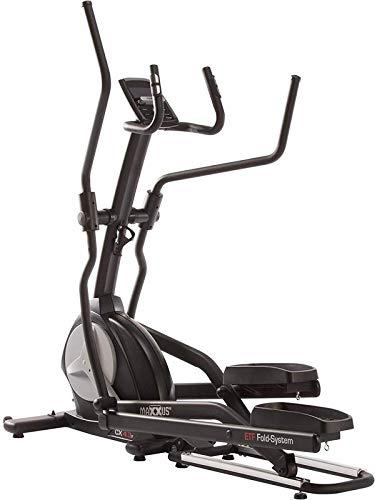 maxxus crosstrainer cx 4.3f - cyclette con ergometro reclinabile, compatta - ellittica professionale da casa per allenamento cardio - silenziosa e morbida per le articolazioni