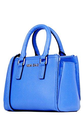Mia Bag SHOPPING MINI CON LETTERING Coll. P/E 2016 Colore Blu Elettrico