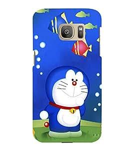 printtech Doraemon Back Case Cover for Samsung Galaxy S7 edge :: Samsung Galaxy S7 edge Duos with dual-SIM card slots
