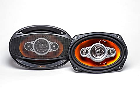 Juice JS695 4-Way 450 W Peak Power Handling Coaxial Speaker System