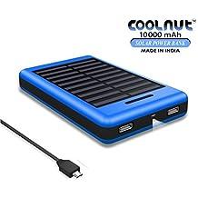 COOLNUT CMSPBS-19 Solar Power Bank 10000mAh for Smartphone