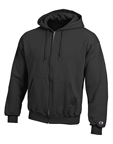 Champion Adult 50/50 Felpa con cappuccio e cerniera Black Medium