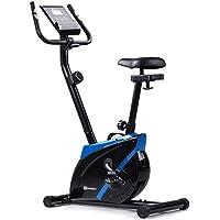 Preisvergleich für Hop-Sport Heimtrainer ONYX Fitnessgerät mit Pulssensoren und Computer Blau