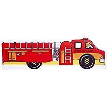 Para cama de niños, incluye colchón camión de bomberos ...