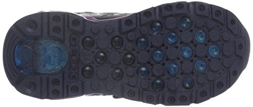 Geox J Android A, Baskets Basses Fille Blau (DK NAVYC4021)