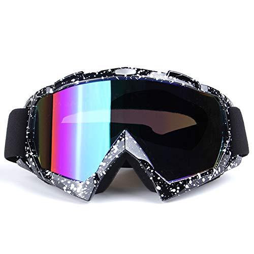 Lafeil Sportsonnenbrille Transparent Damen Herren Outdoor Motorradbrillen Für Männer Und Frauen Sind Brillen Für Off Road Brillen Schwarz Weiß