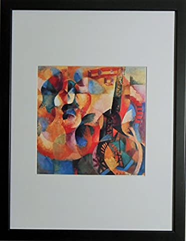Mounted and Framed - Sun Tower Aeroplane by Robert Delauney - 16