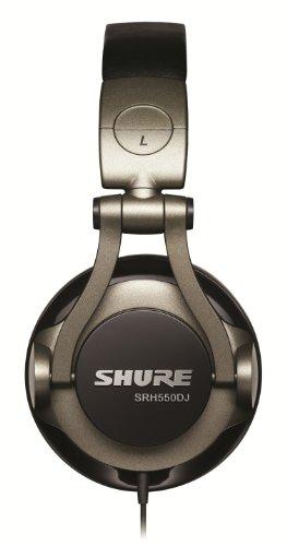 Shure SRH550DJ, geschlossener DJ-Kopfhörer / Over-ear, geräuschunterdrückend, faltbar, drehbare Ohrmuscheln, erweiterter Bass - 3