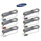 Samsung - Set de 6 Câbles pour Speaker Home Cinema (Speaker Wire Cable)