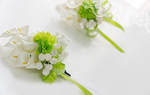 Better-way 5x Hochzeit Blume Braut Bridal Bouquet Brosche Corsage Brautjungfer Valentine 's Day...