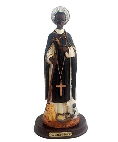 Adep 30,5cm Statue Estatua Santo Saint ST San Martin De Porres Figur Collectible (De Saint Porres Martin)