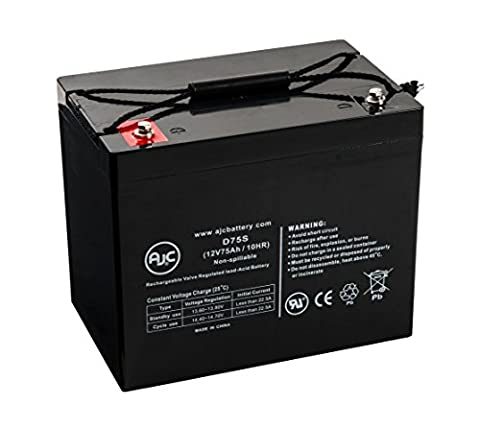 APC RBC13 (Battery) 12V 75Ah UPS Battery Kits - This is an AJC Brand® Replacement
