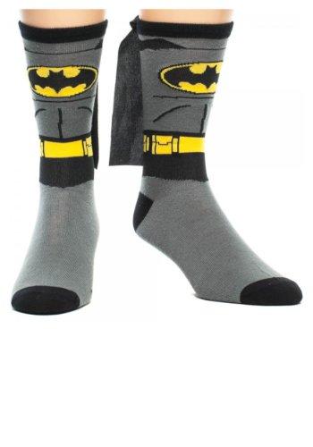 Batman - Costume Caped Socks (Spandex Batman Kostüme)