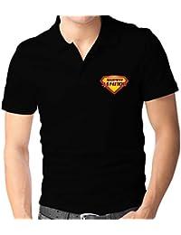 Teeburon SUPER Janitor Polo Camisa