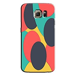 DIGITAL PATTERN 97 BACK COVER FOR SAMSUNG GALAXY S6 EDGE