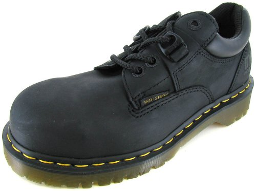 Dr. Martens Heritage Steel Toe Work Oxford Shoe Steel Toe Work Oxford