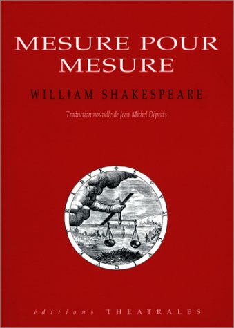 Mesure pour mesure par William Shakespeare