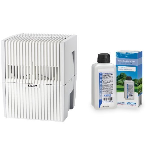 Venta 7015501 Luftwäscher LW 15 weiss / grau + Venta 6328000 Reiniger