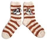 Photo de Sock Shack Femmes Chaud Confortable Chip 'N' Dale Chausson Prise Chaussettes Ru Taille 4-8 Eur 37-42 USA 6-10 par Sock Shack
