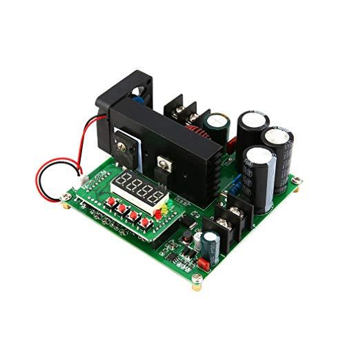 Leoboone 900w900W Leistungsmodul Digitaler DC/DC-Ausgang 10-120V 15A Aufwärts-Leistungsmodul Aufwärtswandler-Leistungsmodul -