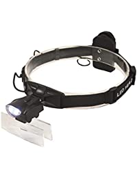 Mufly - Lupa para la cabeza con 5 lentes desmontables (zoom de 1 a 3