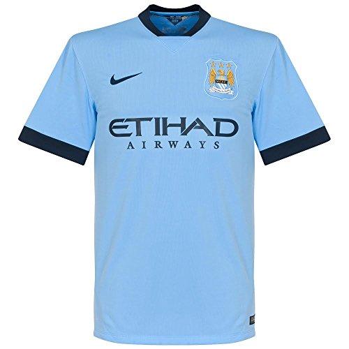 Nike - Camiseta 1ª Equipación Manchester City Fc 2014-2015, talla XL
