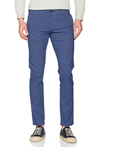 SELECTED HOMME Herren Hose Shhoneluca Vintage Indigo St Pants Noos Blau (Vintage Indigo)
