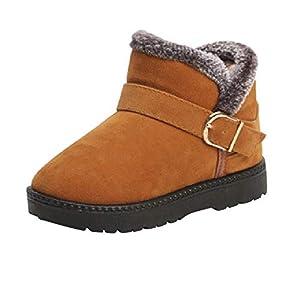 MCYs Kinder Herbst Winter Warme Mode Kinder Mädchen Jungen Studenten Schneestiefel