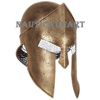 Medieval Larp Helmet of Sparta By Nauticalmart (Halloween-kostüme Incredibles)