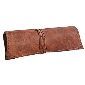 41Y6JvSnF5L. SS300  - Gusti Estuche de Cuero - Felix neceser escolar papeleria pequeño marrón cuero