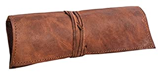 "Gusti Leder nature ""Felix"" Genuine Leather Pouch, Vintage Brown P6 (B008URFACI) 