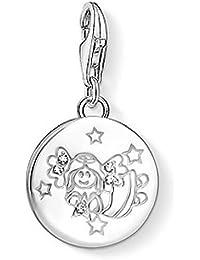 Thomas Sabo Women Silver Clasp Charm - 1485-001-21 2o50jc