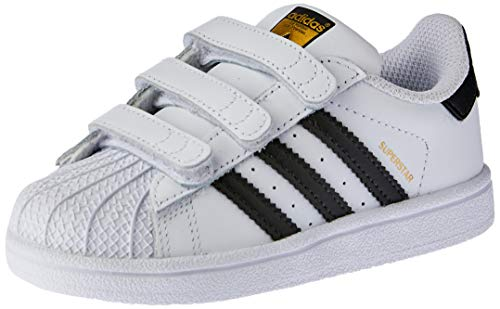 Adidas Superstar CF, Zapatillas Unisex Niños, Blanco Footwear White/Core Black/Footwear White 0...