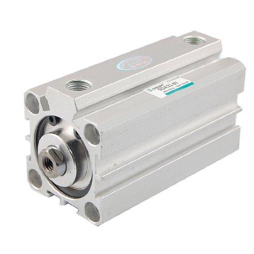 Sourcingmap a12030500ux0025 - 32 millimetri in lega di alluminio del diametro di 60 mm di corsa a doppio effetto cilindro pneumatico