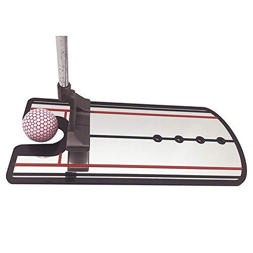Qiyun accessori per il campo da golf,golf swing straight practice golf putting mirror allineamento training aid swing trainer eye line accessori golf