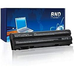 BND-Batterie pour Ordinateur Portable Dell Latitude E5430 E6420 E5420 E6520 E5520 E6530, Inspiron 5520 5720, Vostro 3560, Compatible avec P/N 8858x T54F3 2P2MJ DHT0W