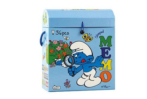 Barbo Toys - Juego de memoria con diseño de los Pitufos