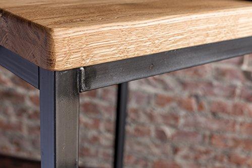 stehtisch bartisch tresen bar industriedesign loft ein set 66er tisch 2 hocker eiche natur. Black Bedroom Furniture Sets. Home Design Ideas