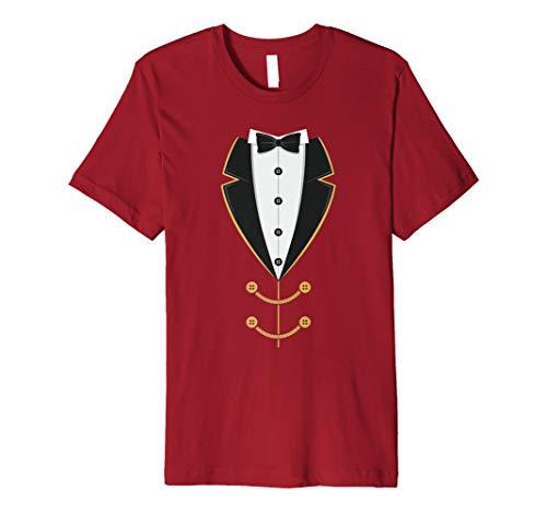 Zirkusdirektor Zirkus Kostüm rot Cranberry T-Shirt