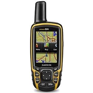 gps maps: Garmin Map 64-Navigador GPS, Negro/Naranja