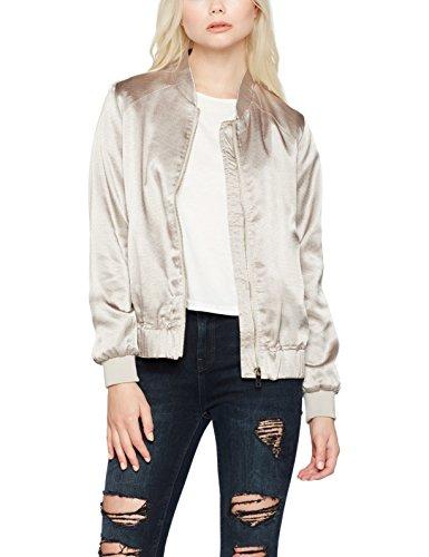 New Look Damen Jacke Close Metallic, gold, Gr. 36 (Herstellergröße: 8)