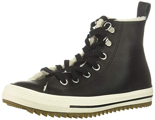 Converse Unisex-Erwachsene CTAS Hiker Boot HI Black/EGRET/Gum Fitnessschuhe, Mehrfarbig 001, 39 EU