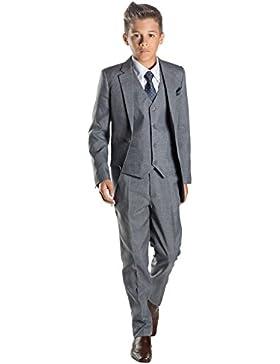 Paisley of London Anzug, für Jungen, Hochzeit, Pagenjunge, Grau, 12–18Monate,13Jahre