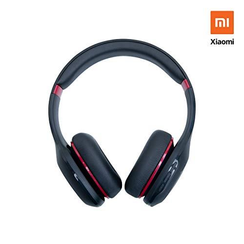 Mi Super Bass Wireless Headphones (Black and Red)