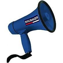 BRUBAKER Megafono con funzioni voce e sirena - in colore blu