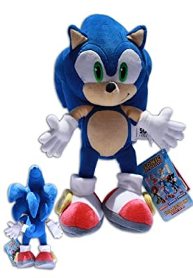 Peluche Sonic the Hedgehog Azul Sega Erizo Azul Calidad Extra (34cm)