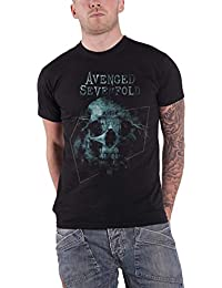 Avenged Sevenfold T Shirt Galaxy Band Logo The Stage Official Mens Black