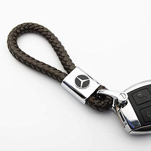 Fitracker Leder Auto Schlüsselanhänger Autozubehör Schlüsselanhänger mit Geschenk-box