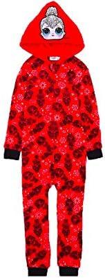 Cerdá L O L Surprise! Pijama Entero para Niñas, Pijama De Una Pieza, Forro Polar Suave Y Acogedor, Pijama Mono