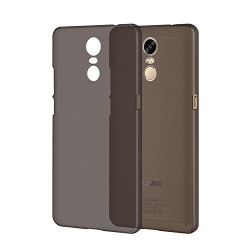 Guran® Hart Plastik Schutzhülle Case Cover für Bluboo Maya Max Smartphone Hülle Handytasche Etui-grau